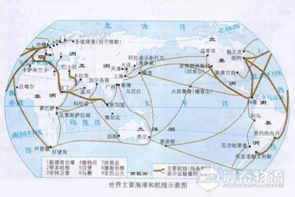 航贸必备!全球基本港口及航线对照表